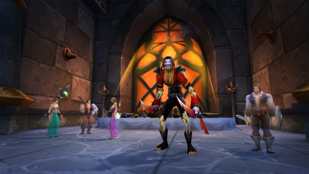 razas World of Warcraft Burning Crusade