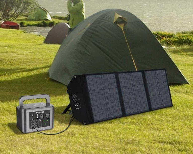 panel solar portátil